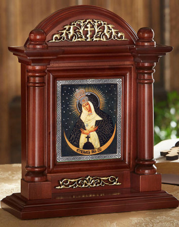 Icon Home Shrine - Our Lady of Ostrabama