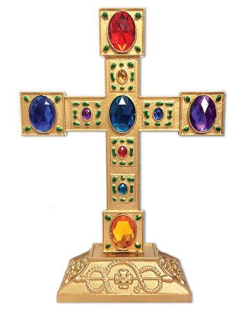 Jewelled Pedestal Cross