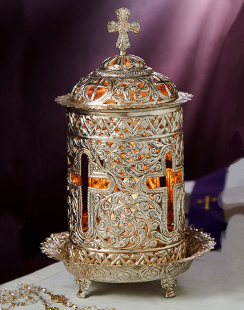 Light of Christ Votive Lamp