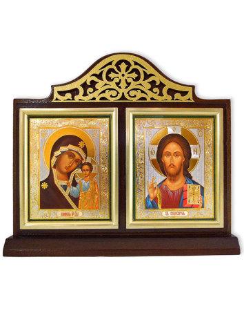 Madonna and Christ Diptych Shrine