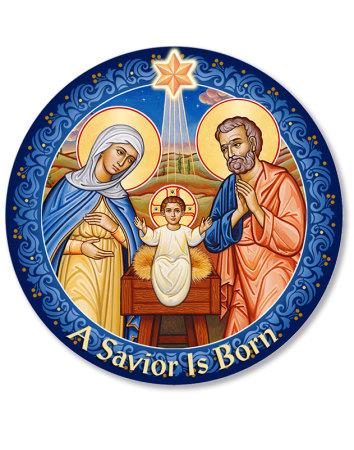 Blessing Christ Christmas Magnet
