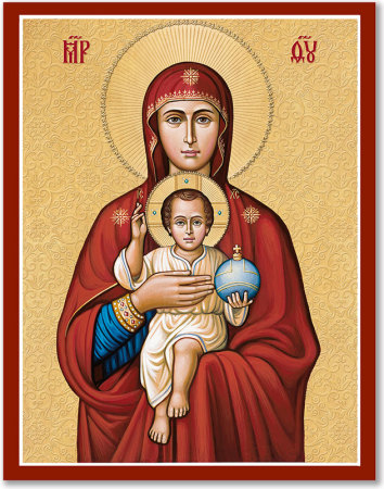 Mother of Our Savior Icon
