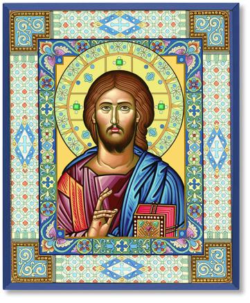 Ornamental Christ magnet
