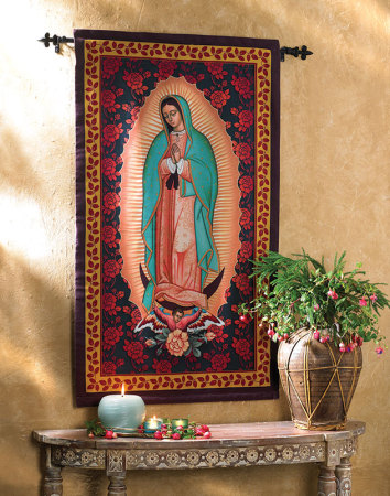 Ornamental Guadalupe Wall Hanging
