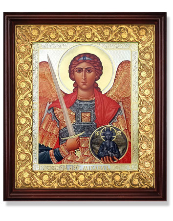 Ornamental Icon Shrine - St Michael