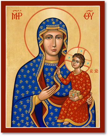 Blessed Virgin Mary Icons Our Lady Of Czestochowa Icon