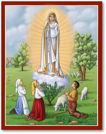 Our Lady of Fatima icon