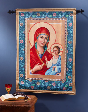 """Our Lady of Light Wall Hanging 36"""""""