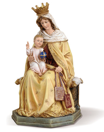 Our Lady of Mt Carmel figurine