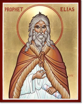 Prophet Elias original icon