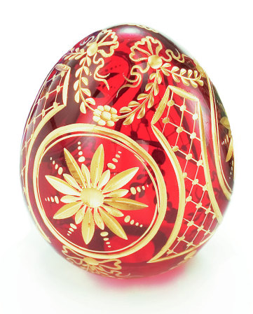 Star of Bethlehem Crystal Egg