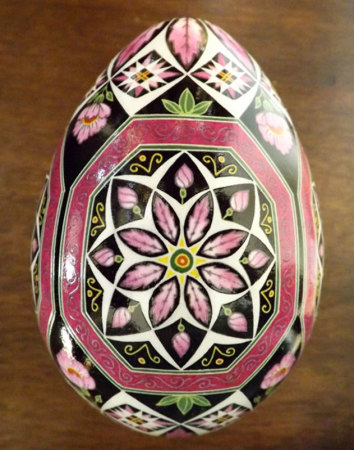 Russian Bloom Fine Art Egg