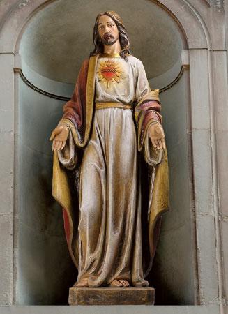 Sacred Heart Basilica Statue