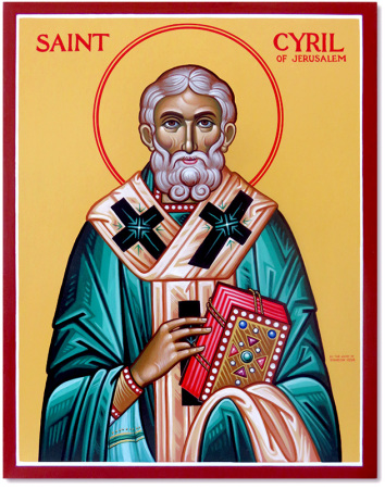 Saint Cyril of Jerusalem Original Icon