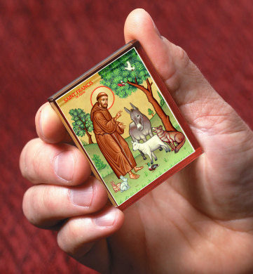 St. Francis & the Animals Magnet