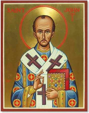 Saint John Chrysostom Original Icon