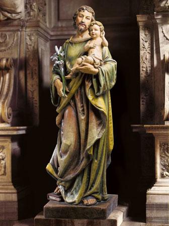 Saint Joseph Basilica Statue