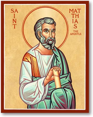 Saint Matthias icon