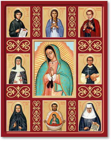 Saints of the Americas Icon