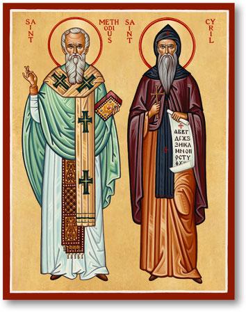 St Cyril & Methodius Icon
