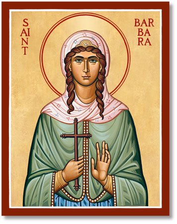 St. Barbara icon