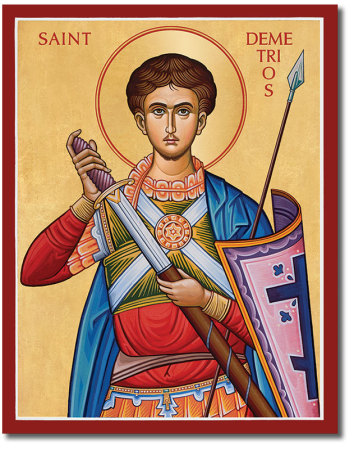 St. Demetrios Icon
