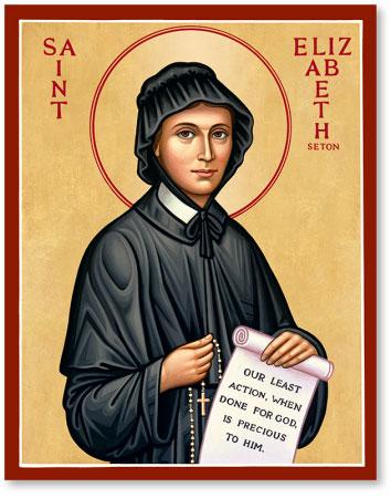 St. Elizabeth Seton icon