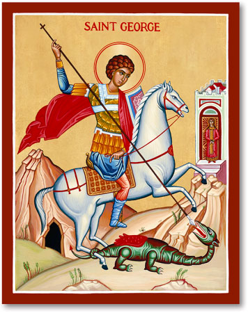 Image result for st george icon