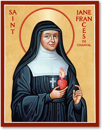 St Jane de Chantal icon