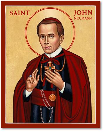 St. John Neumann icon