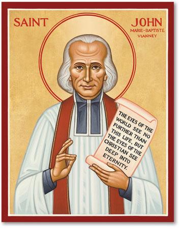 Men Saint Icons St John Vianney Icon Monastery Icons