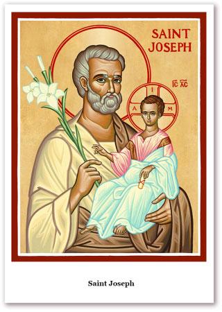 St. Joseph Holy Cards