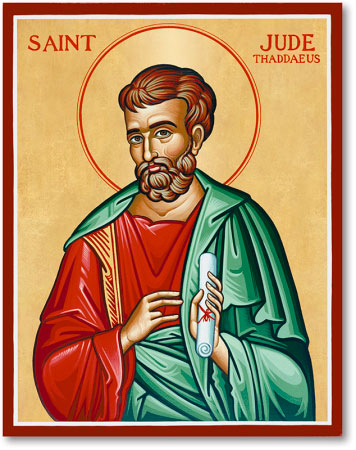 Saint Jude Icon Magnet