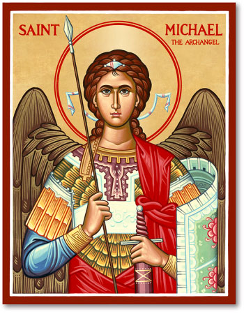 Image result for icon st michael