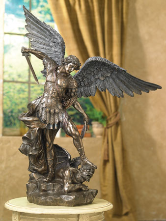 "St. Michael the Defender, 29"" tall"