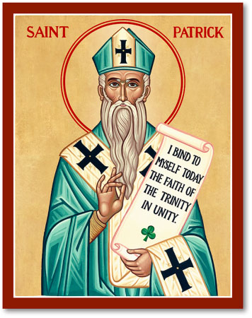 Image result for st. patrick icon