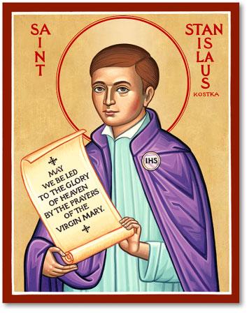 St. Stanislaus Kostka icon