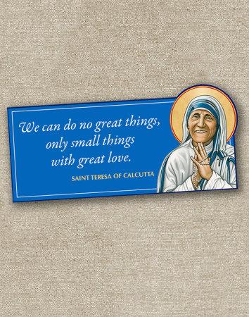 St Teresa Inspirational Magnet