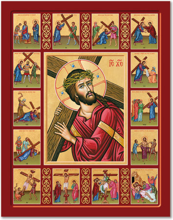 Stations of the Cross Story Icon