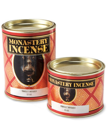 Monastery Incense Sweet Myrrh - Fragrance of the Month - Shipped FREE!