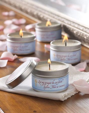 Sweet Myrrh scented candle