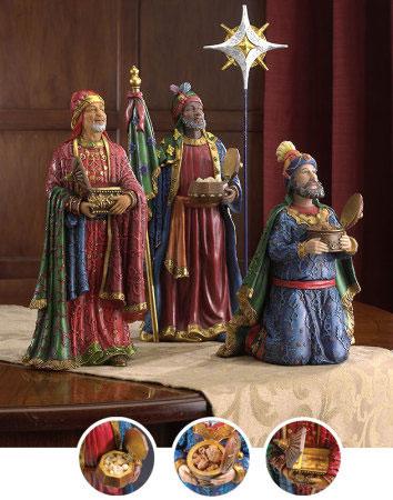 Three Kings Figurines