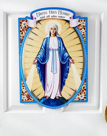 Virgin Mary Door Hanging
