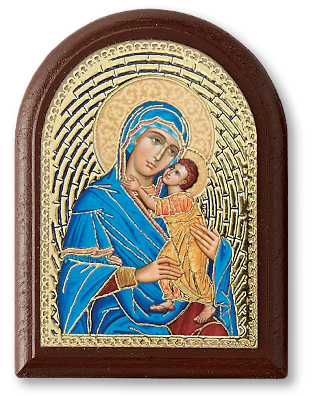 Blue Madonna Desktop Icon