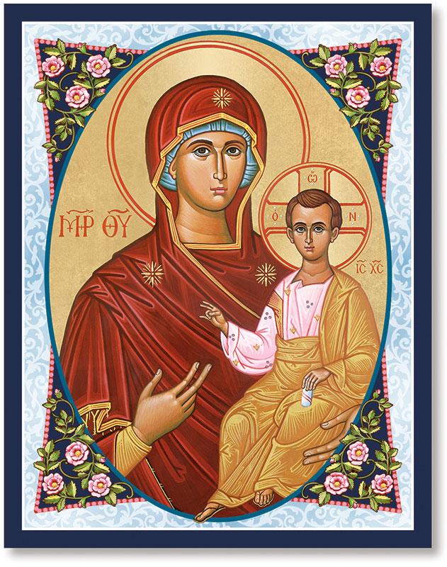 Byzantine Madonna Icon