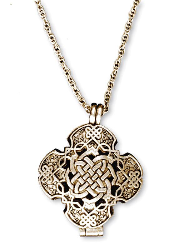 Celtic Prayer Locket