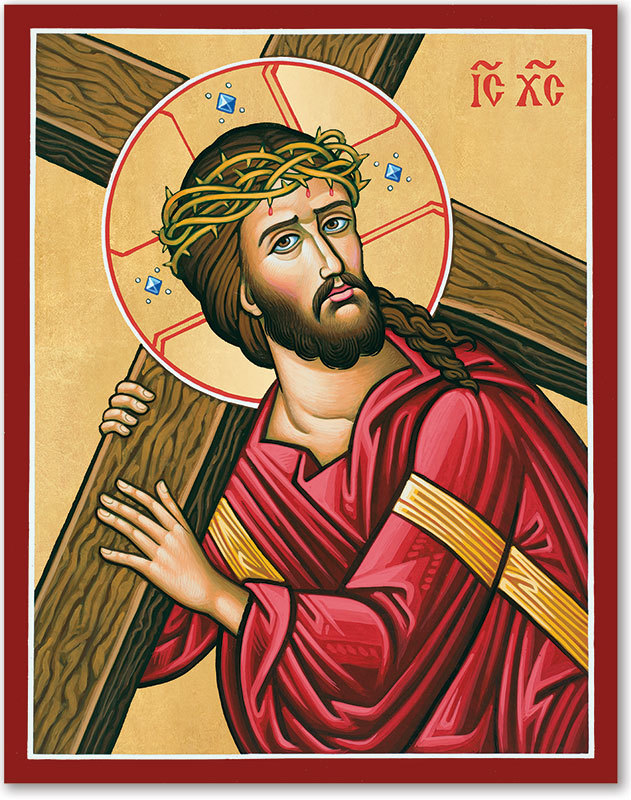 Christ Carrying the Cross Icon