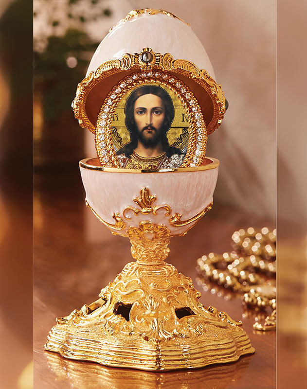 Christ Enameled Egg