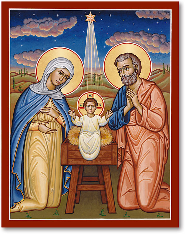 Christ the New Dawn icon