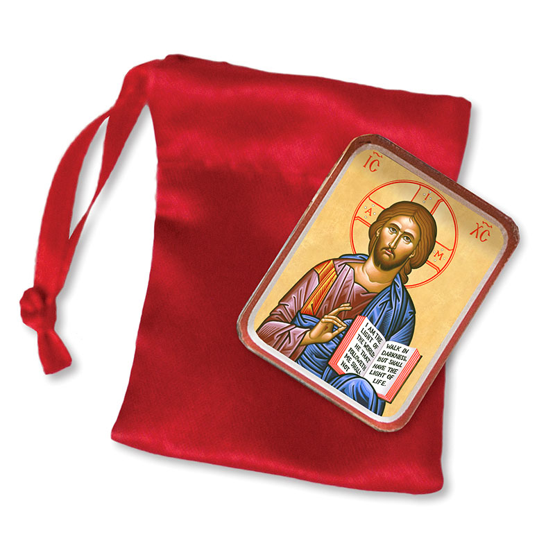 Christ the Teacher Pocket Icon